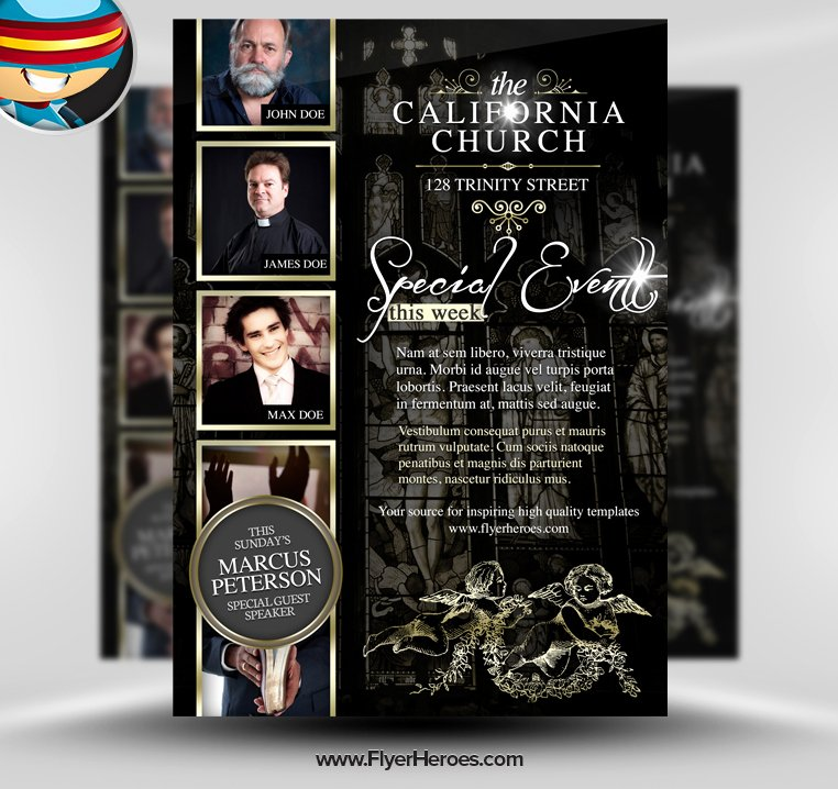 Free Church Flyer Templates Psd Beautiful 13 Hd Psd Img Church Bldg Cosmetic Advertisement
