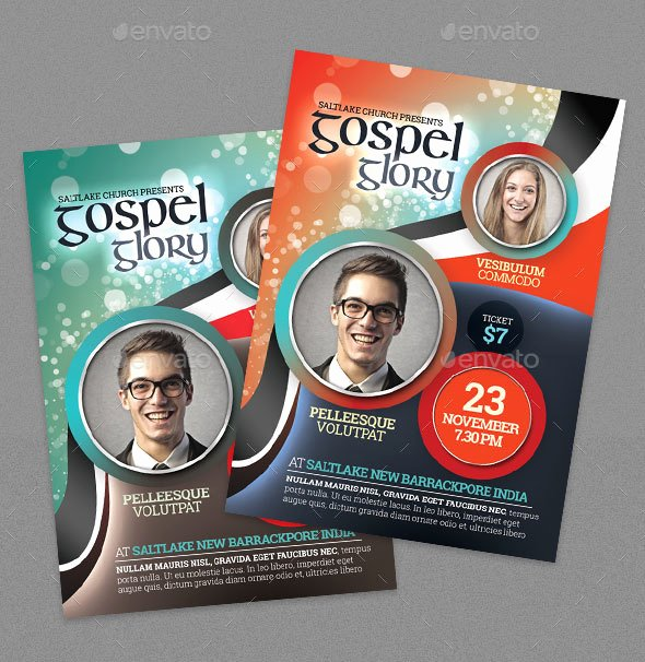 Free Church Flyer Templates Psd Beautiful 34 Free Psd Church Flyer Templates In Psd for Special