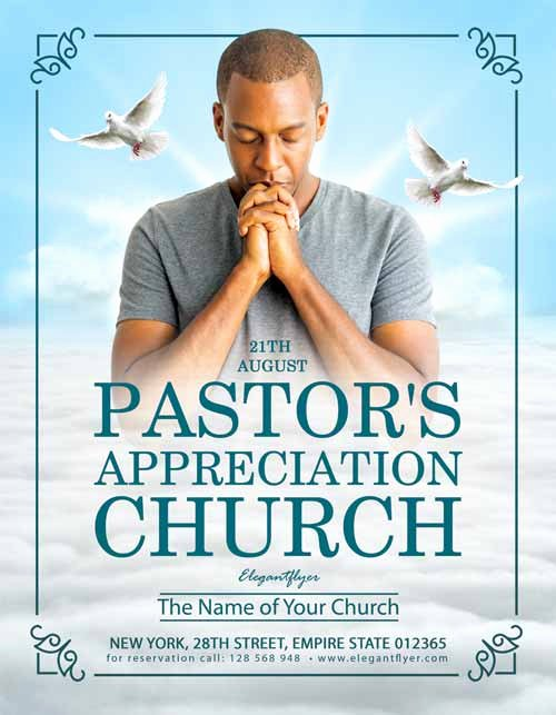 Free Church Flyer Templates Psd Best Of Pastor's Appreciation Free Church Flyer Flyer Template for