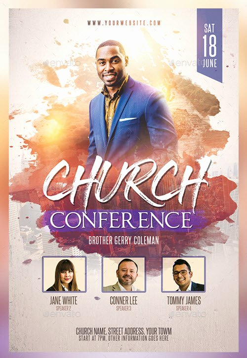 Free Church Flyer Templates Psd Elegant 30 Premium and Free Church Psd Templates for Religious