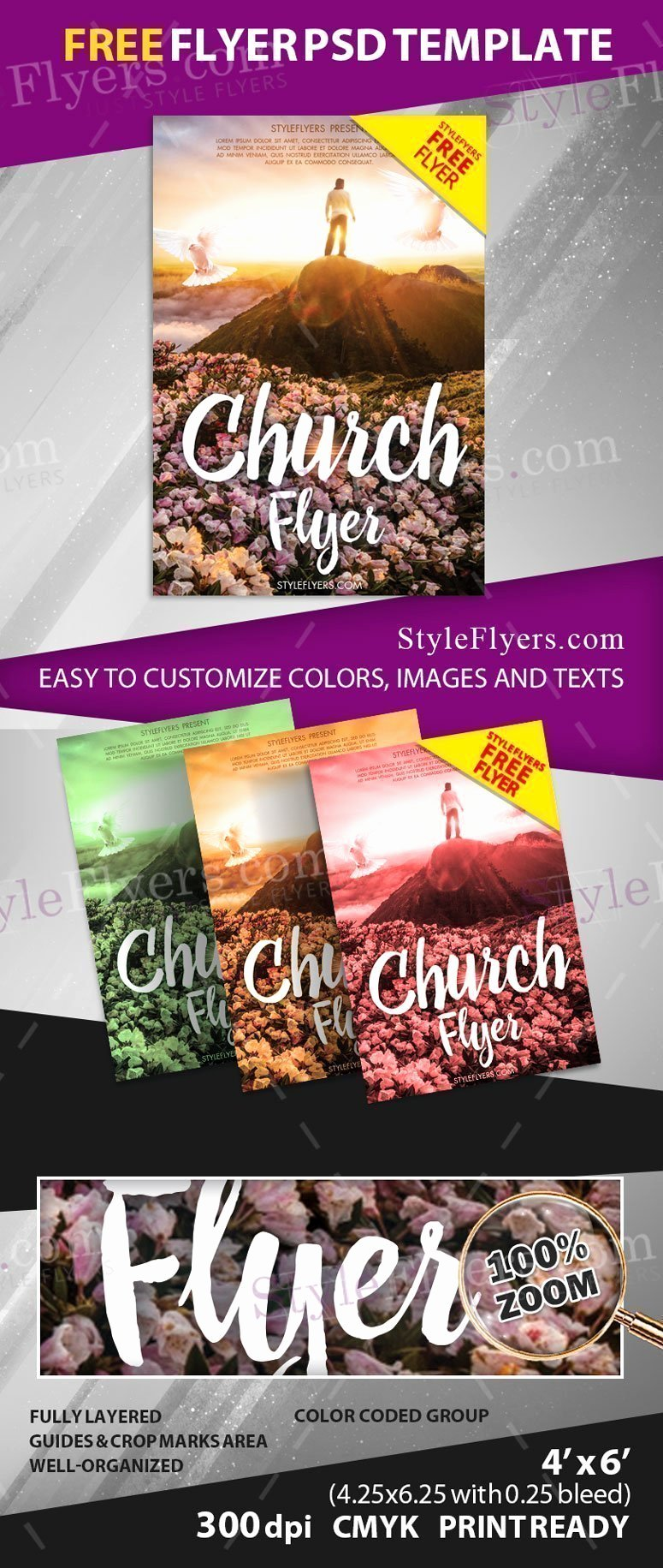 Free Church Flyer Templates Psd Fresh Church Free Psd Flyer Template Free Download