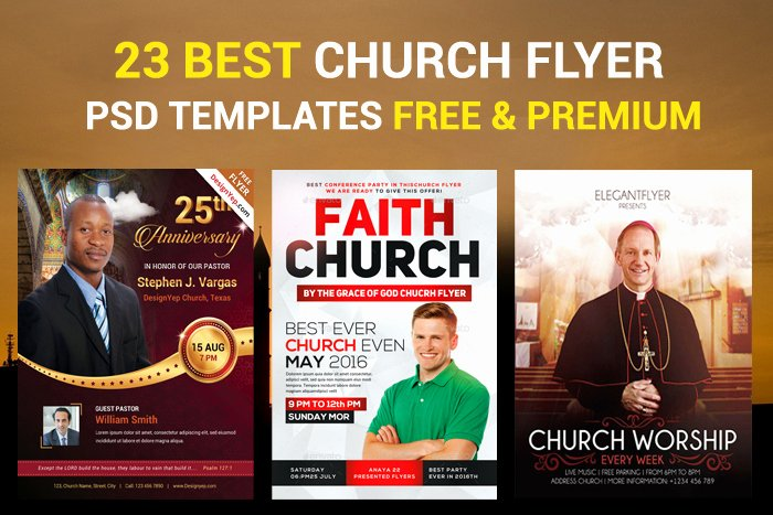Free Church Flyer Templates Psd Unique 23 Church Flyer Psd Templates Free & Premium Designyep