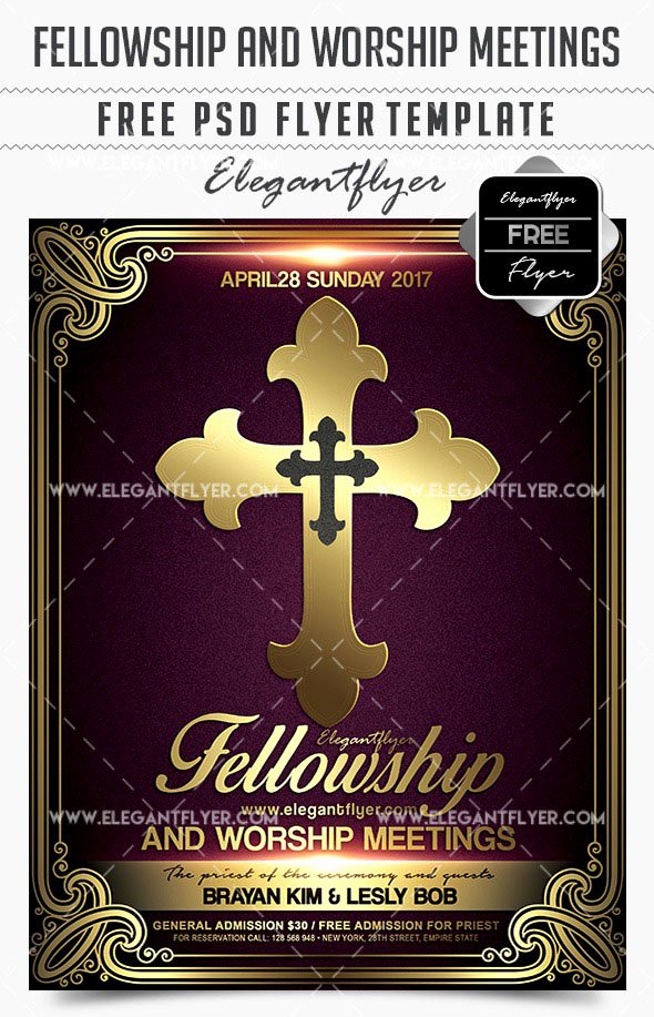 Free Church Flyer Templates Psd Unique 34 Free Psd Church Flyer Templates In Psd for Special