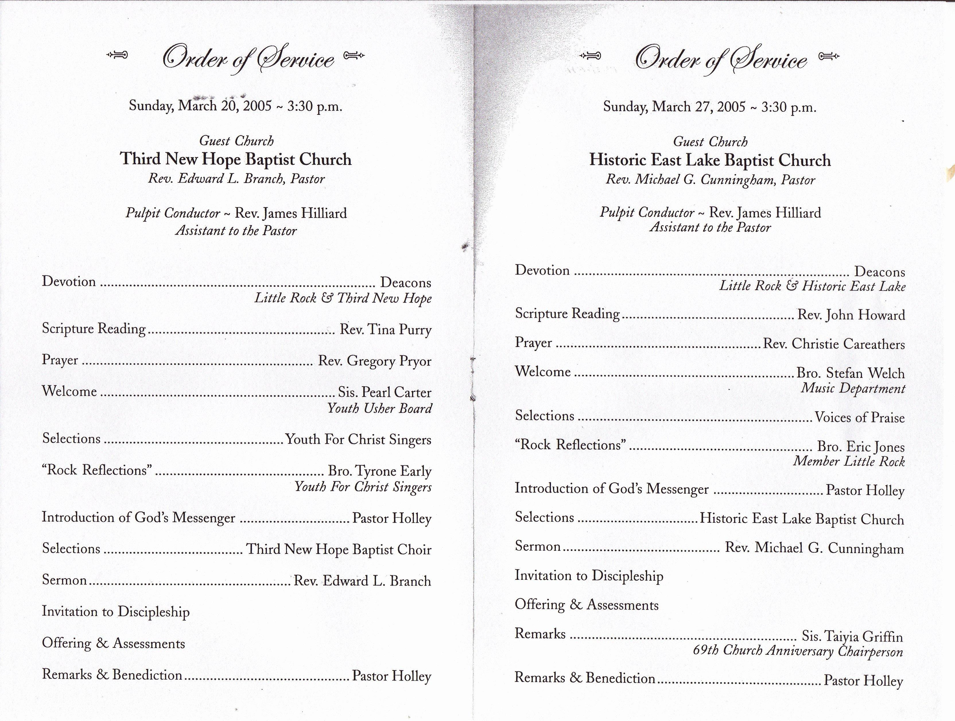Free Church Programs Template Fresh Best S Of Black Pastors Anniversary Programs Pastor