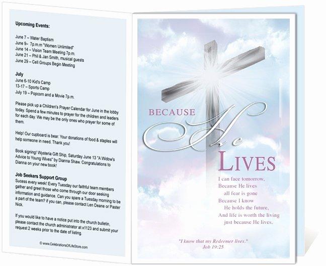 Free Church Programs Template Luxury Church Bulletin Templates Free Templates Resume