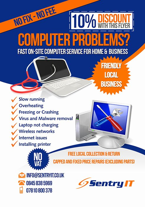 Free Computer Repair Flyer Template Awesome Blog Archives Ohiomedia