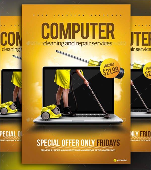 Free Computer Repair Flyer Template Beautiful Puter Repair Flyers 15 Free Psd Vector Ai Eps