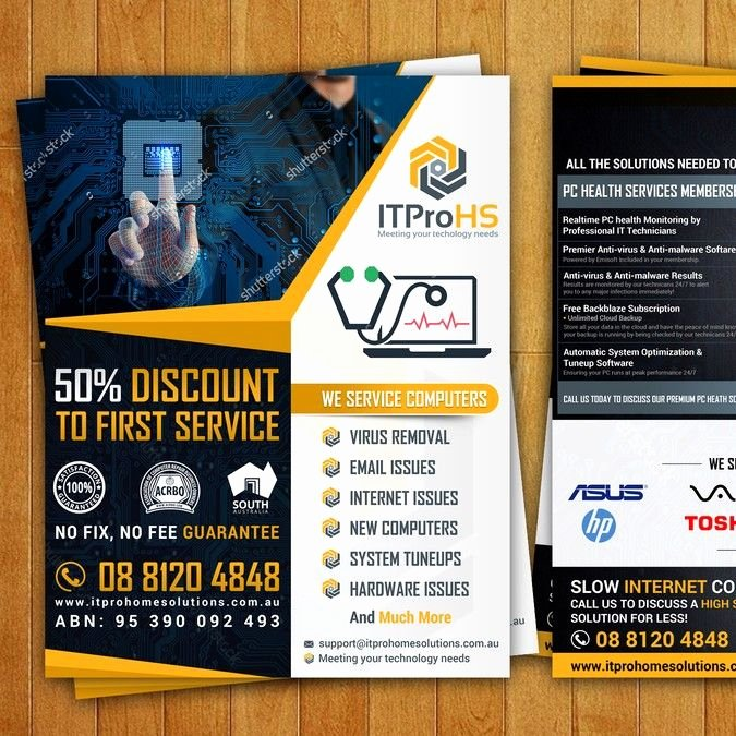 Free Computer Repair Flyer Template Fresh Create A Modern Flyer for A Puter Repair and Services