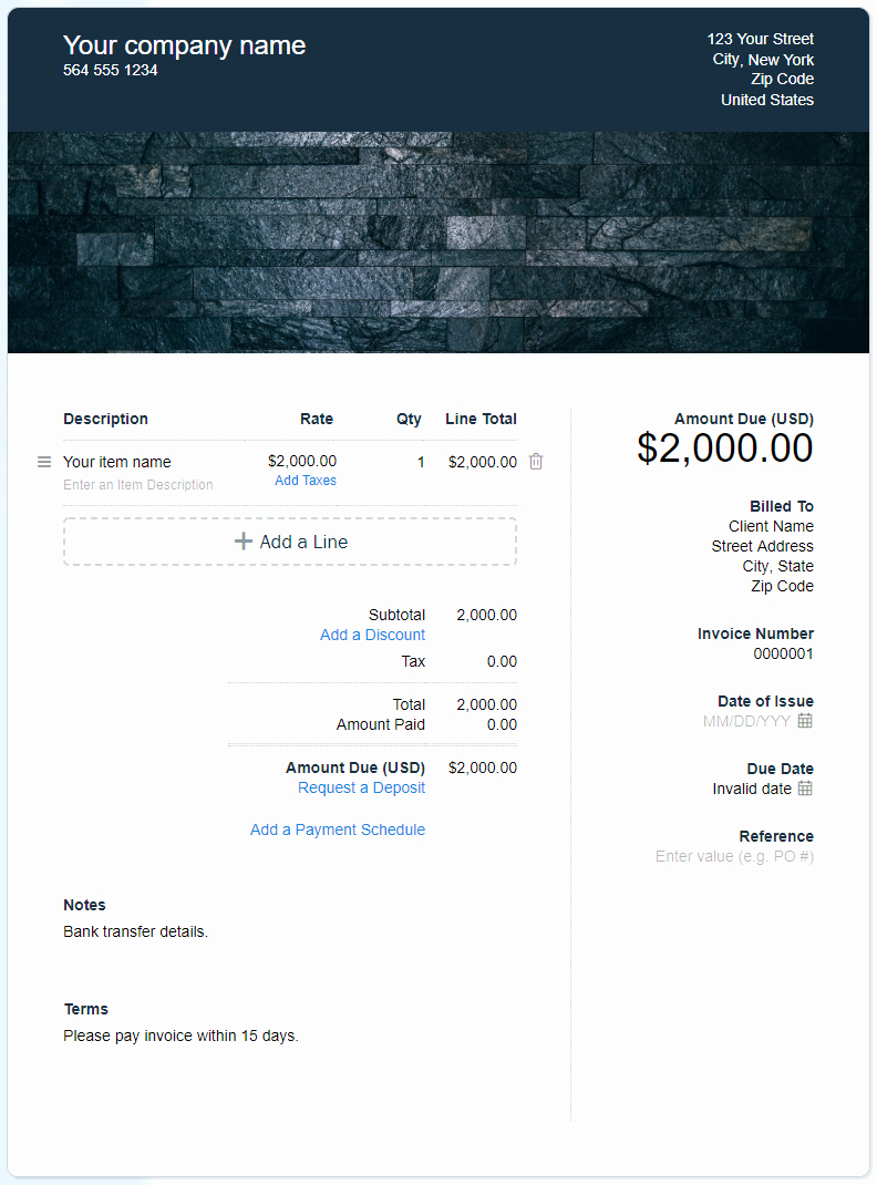 Free Contractor Invoice Template Awesome Free Contractor Invoice Template Download now