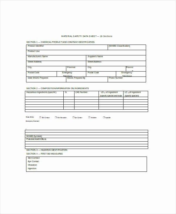 Free Data Sheet Template Luxury 26 Data Sheet Templates Free Sample Example format