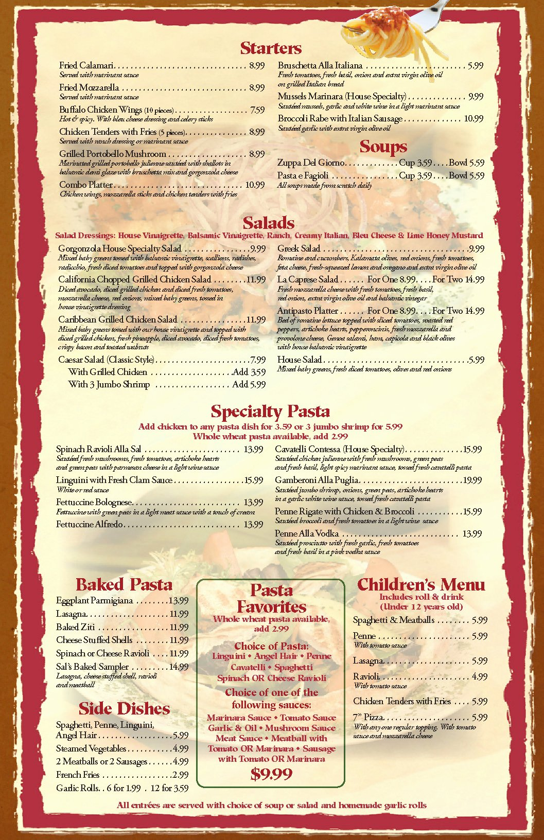 Free Dinner Menu Templates Beautiful Restaurant Menu Templates