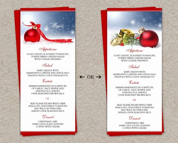 Free Dinner Party Menu Templates Awesome Diy Printable Holiday Dinner Party Menus and Christmas
