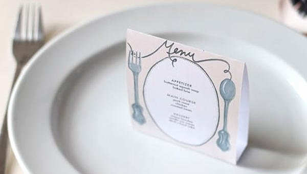 Free Dinner Party Menu Templates Best Of 8 Dinner Party Menu Templates Psd Ai