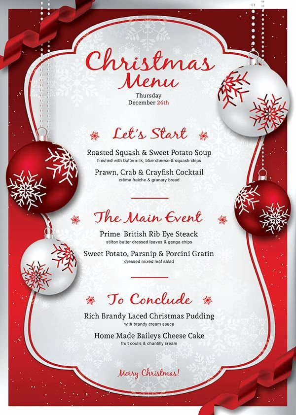 Free Dinner Party Menu Templates Inspirational Image Result for Christmas Cocktail Party Menu Template