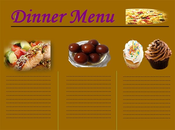 Free Dinner Party Menu Templates Lovely Free 25 Dinner Party Menus In Illustrator