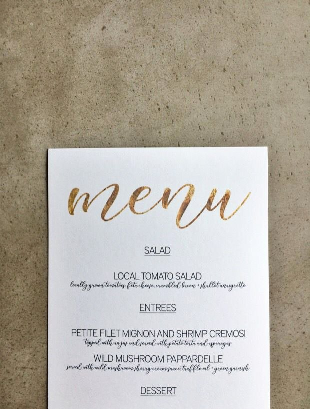 Free Dinner Party Menu Templates Lovely Free Download Gold Menu Template