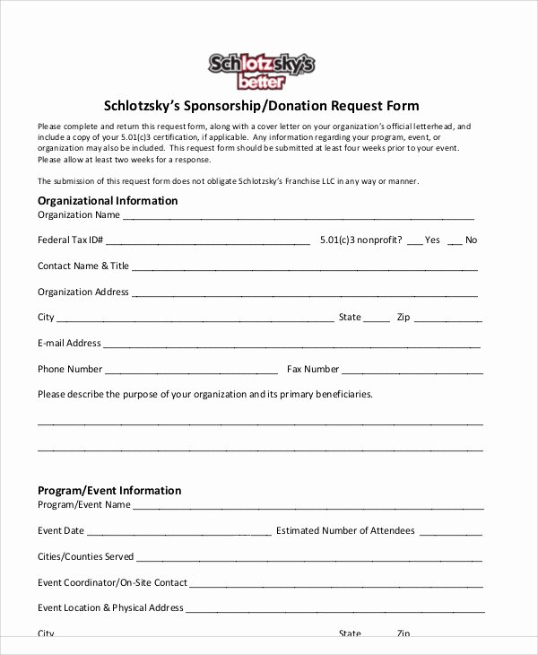 Free Donation Request form Template Lovely 10 Donation Request form Samples Examples Templates