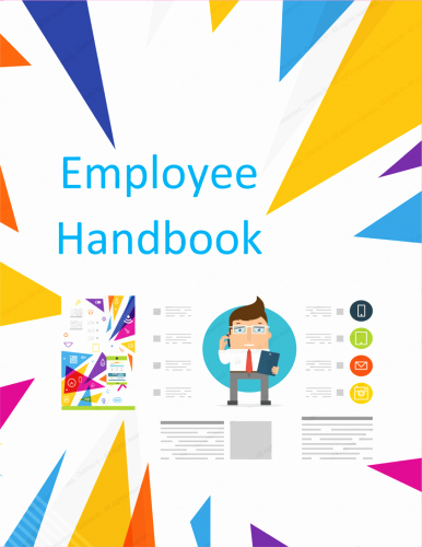 Free Employee Handbook Template Inspirational Employee Handbook Template Free Printable Sample