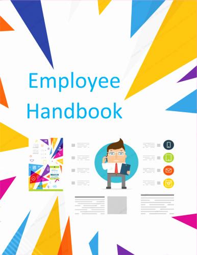 Free Employee Handbook Template Pdf Luxury Employee Handbook Template Free Printable Sample