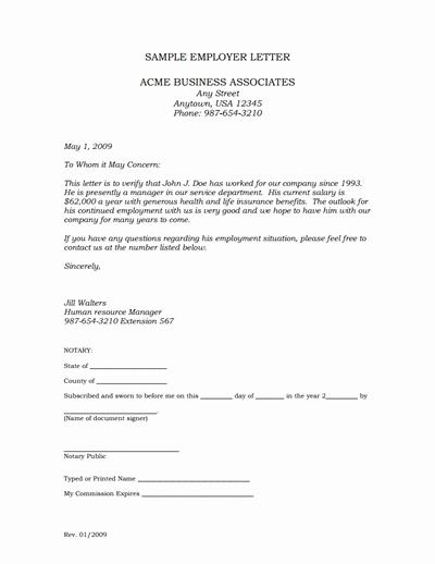 Free Employee Verification form Template Awesome Employment Verification Letter Template Edit Fill,create