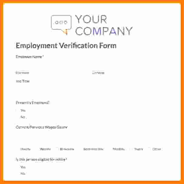 Free Employee Verification form Template Luxury 8 Salary Contract Template