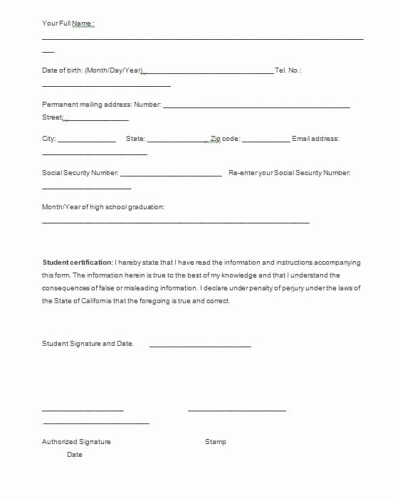 Free Employment Verification form Template Beautiful Verification forms Template Free formats Excel Word