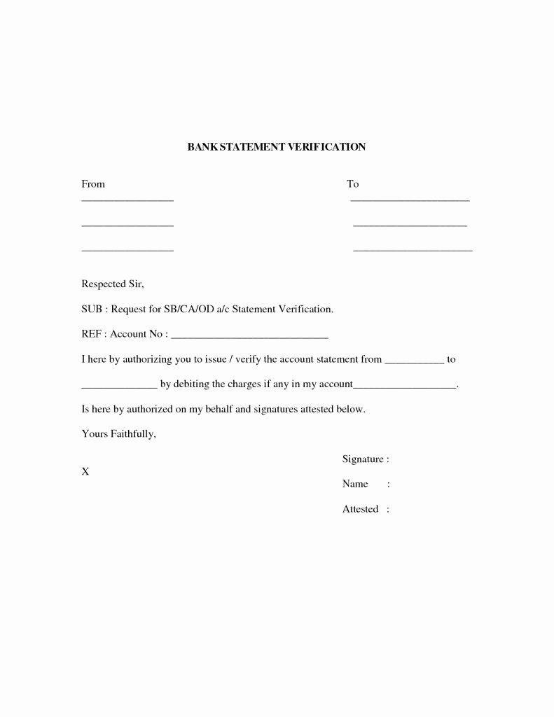 Free Employment Verification form Template Fresh Unique Free Employment Verification form Template