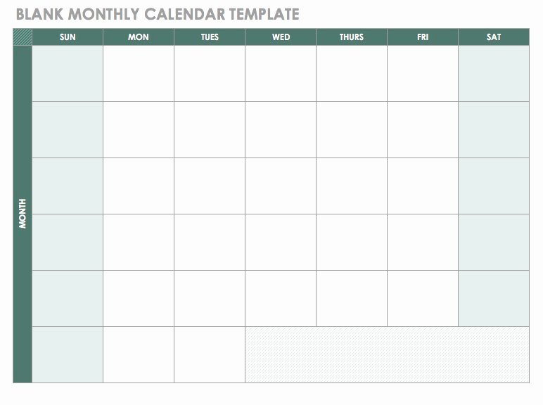 Free event Calendar Template Beautiful Free Blank Calendar Templates Smartsheet