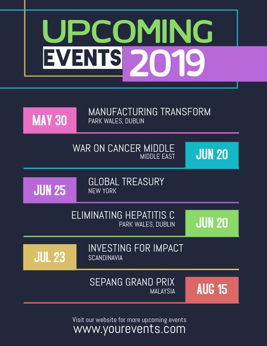 Free event Calendar Template Best Of Copy Of Up Ing events Calendar