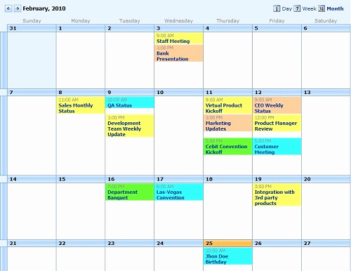 Free event Calendar Template Fresh event Calendar Plus Free and software Reviews