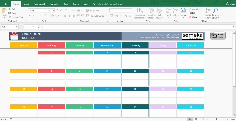 Free event Calendar Template Fresh Excel Calendar Template 2019 Free Printable Calendar