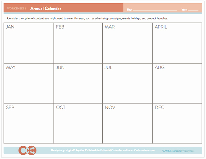 Free event Calendar Template New Free Editorial Calendar Template