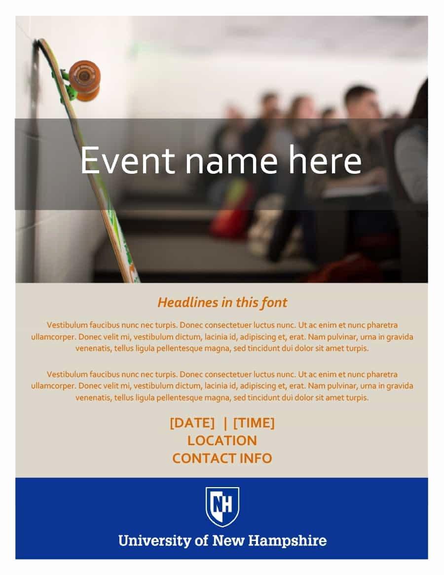 Free event Program Template Beautiful 40 Free event Program Templates Designs Template Archive