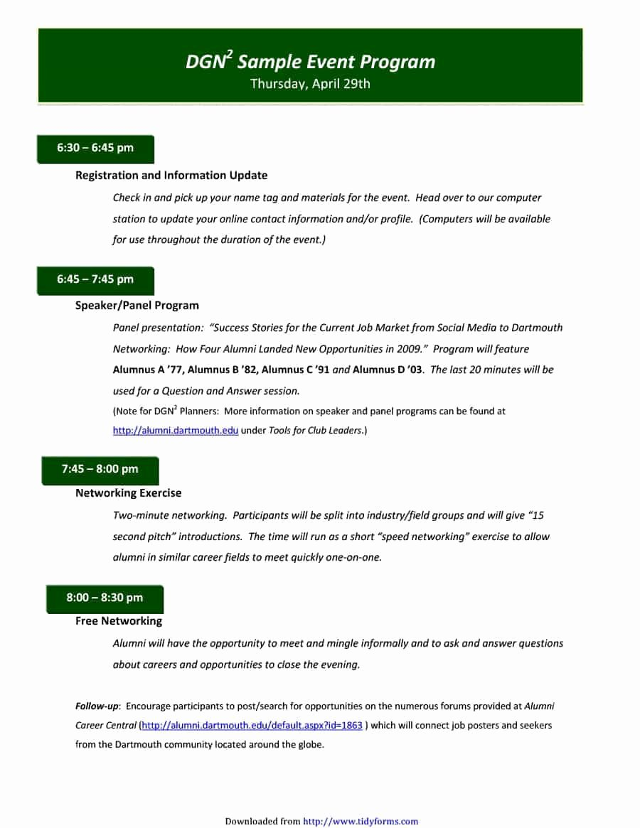 Free event Program Template Best Of 40 Free event Program Templates Designs Template Archive