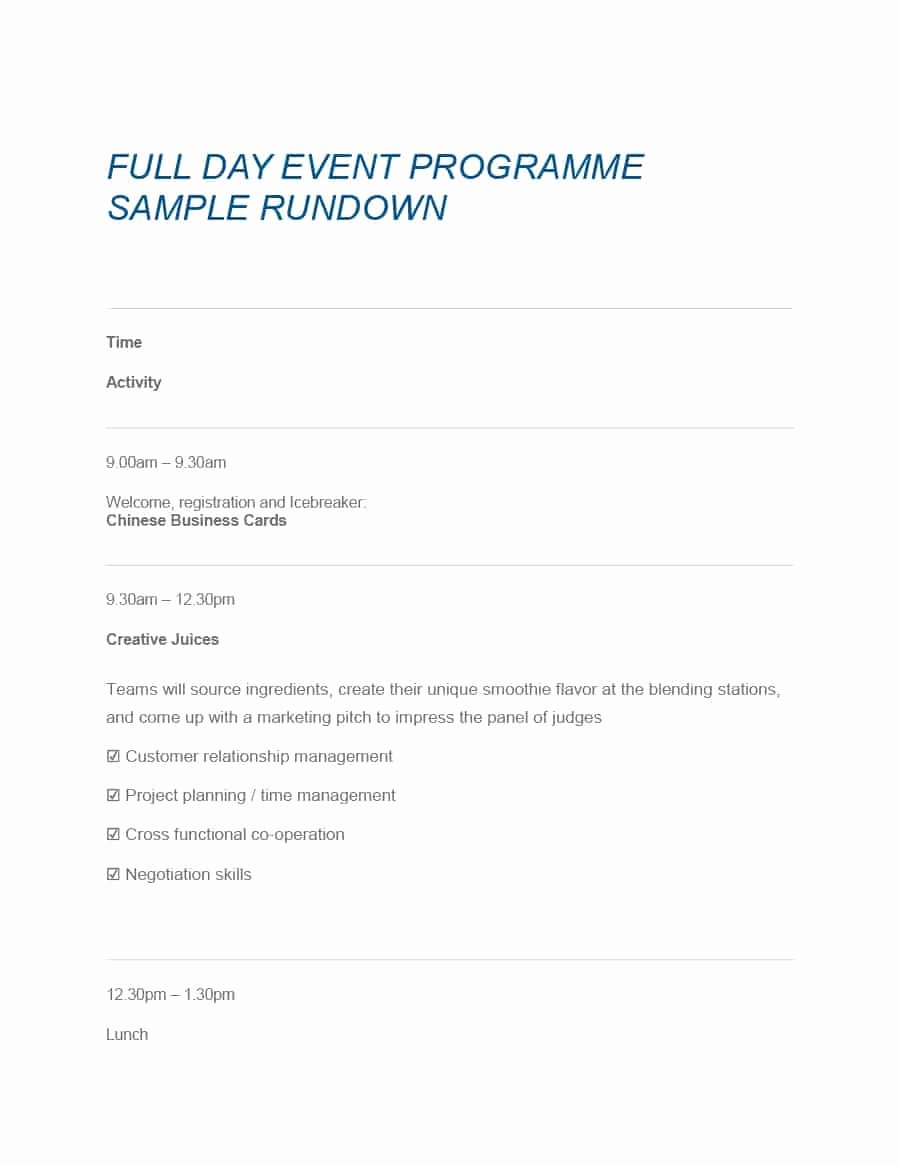 Free event Program Template New 40 Free event Program Templates Designs Template Archive