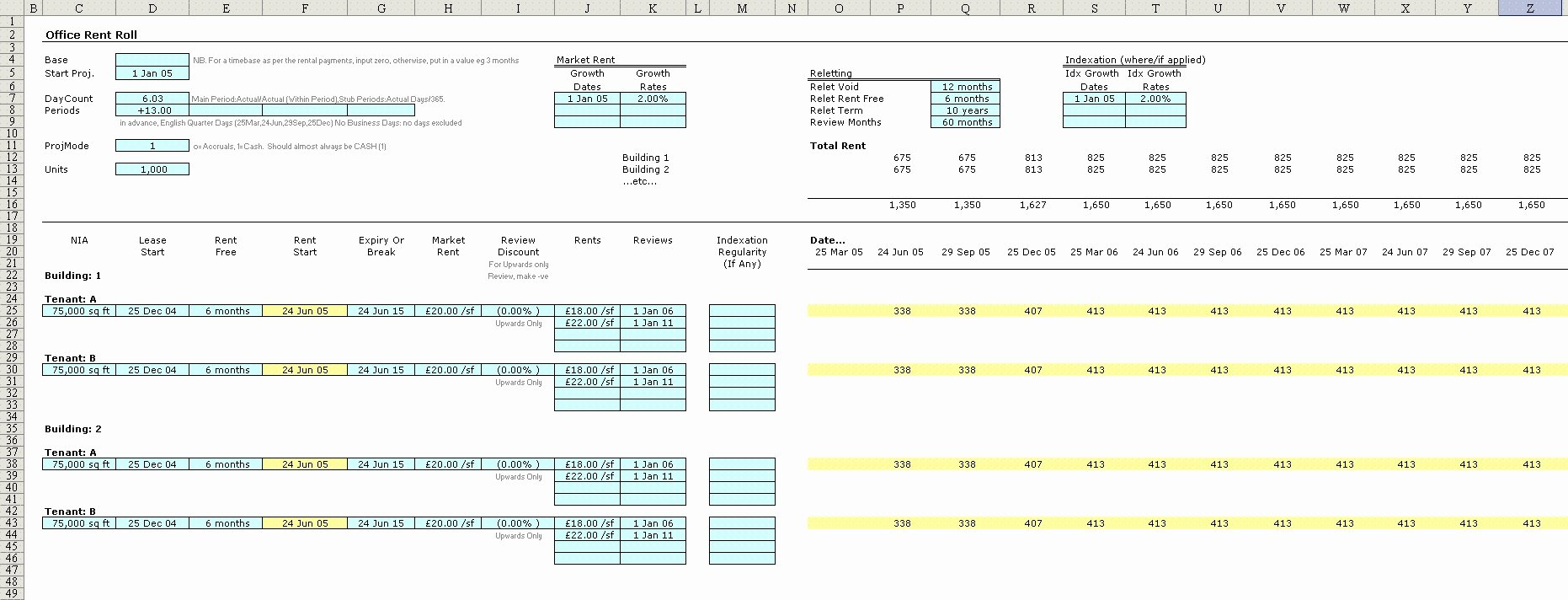 Free Excel Rent Roll Template Luxury Rent Roll Spreadsheet Example