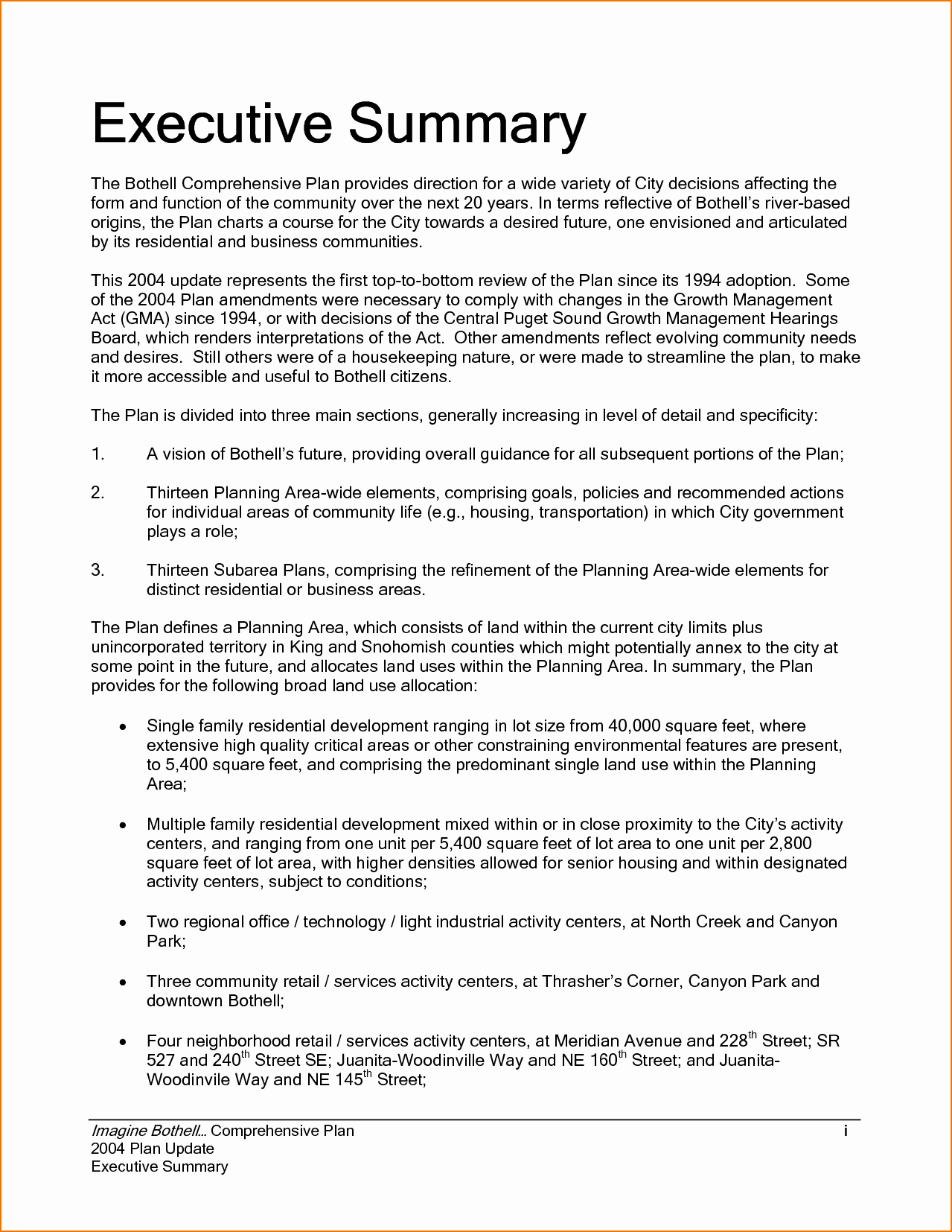Free Executive Summary Templates Fresh Executive Summary Example Incident Report Template Sample