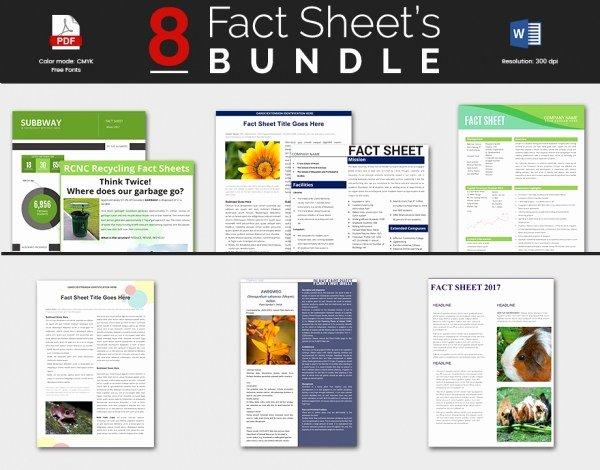 Free Fact Sheet Template Unique Fact Sheet Template Word Pics – Fact Sheet Template Ms