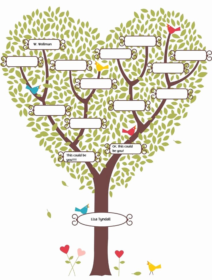 Free Family Tree Template Awesome Pinterest • the World's Catalog Of Ideas
