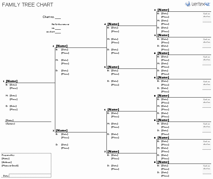 Free Family Tree Templates Unique Free Family Tree Template
