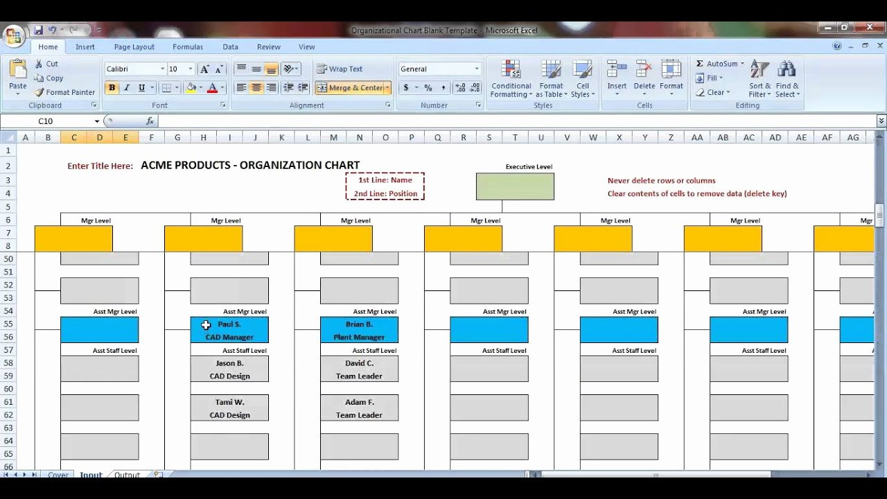 Free Flow Chart Template Excel Best Of Excel organization Chart Template Demonstration
