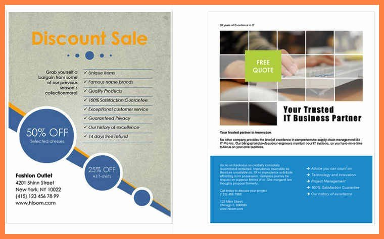 Free Flyer Templates Microsoft Word Awesome Flyer Template Word Free – 73 Best Microsoft Word
