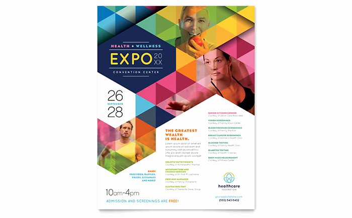 Free Flyer Templates Microsoft Word Elegant Health Fair Flyer Template Word & Publisher