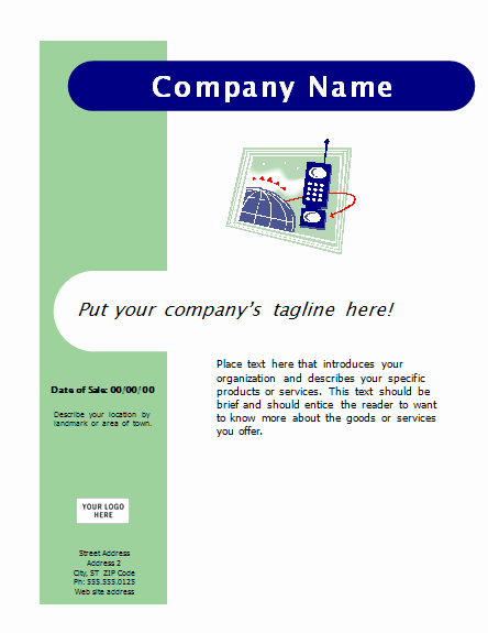 Free Flyer Templates Microsoft Word Lovely Download Flyer Capsules Design Free Flyer Templates for