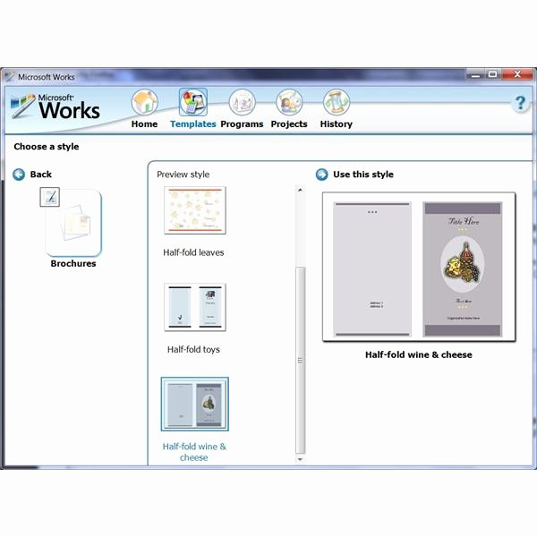 Free Flyer Templates Microsoft Word New How to Use the Free Brochure Templates for Microsoft Works