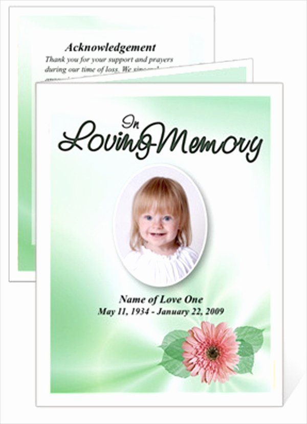 Free Funeral Card Template Beautiful 15 Funeral Card Templates Free Psd Ai Eps format