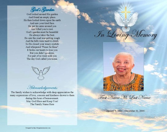 Free Funeral Program Templates Awesome 6 Free Funeral Program Templates Microsoft Word Website