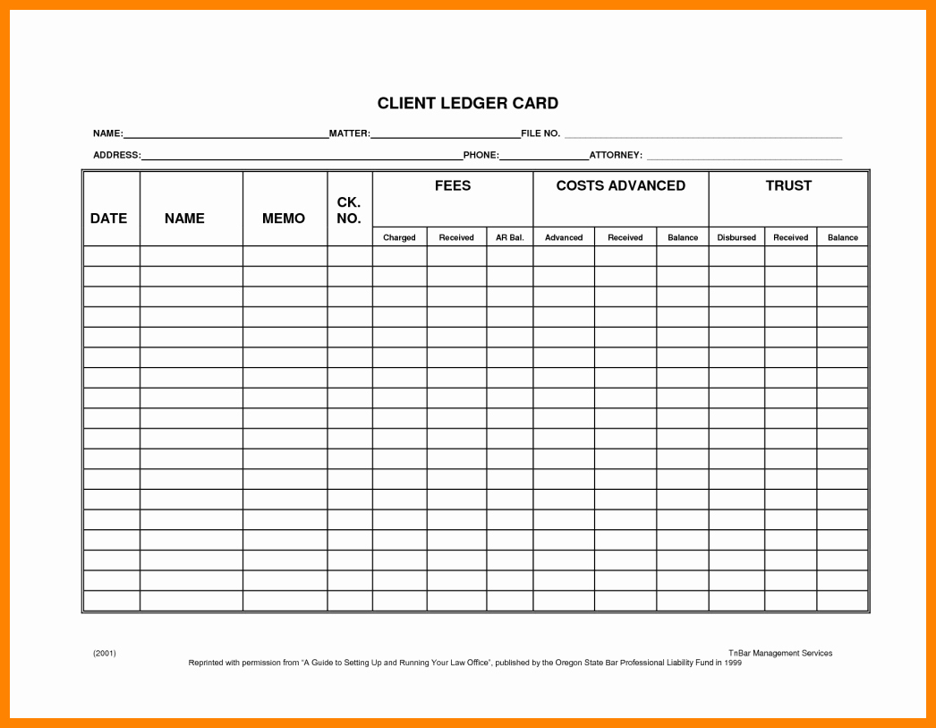 Free General Ledger Template Beautiful 8 Free General Ledger forms