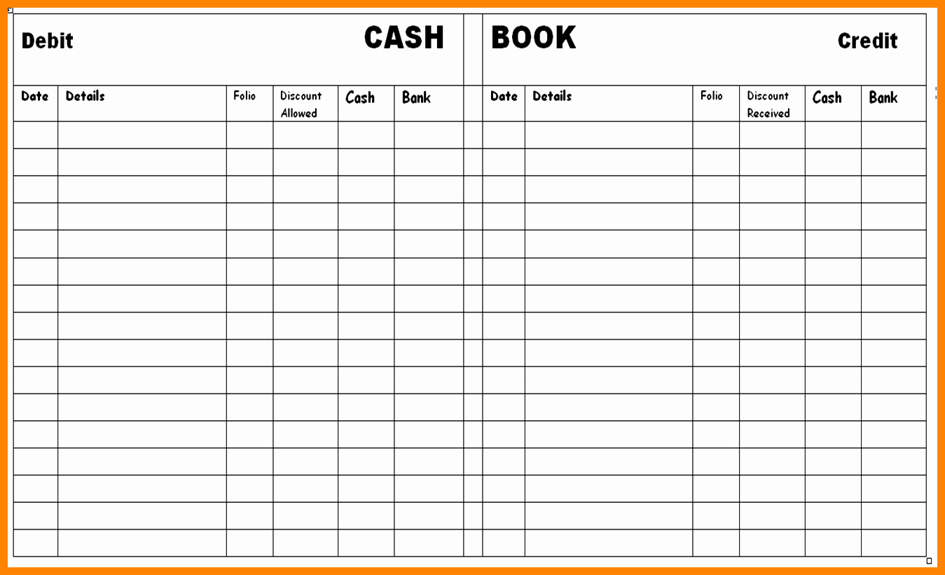 Free General Ledger Template Inspirational 8 Free Printable Accounting Ledger