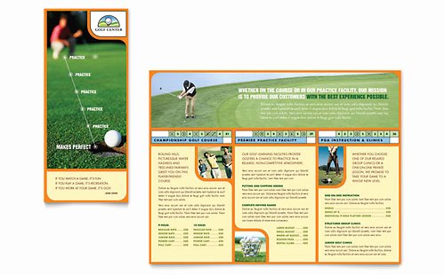 Free Golf tournament Flyer Template Awesome Golf tournament Flyer Template Word & Publisher